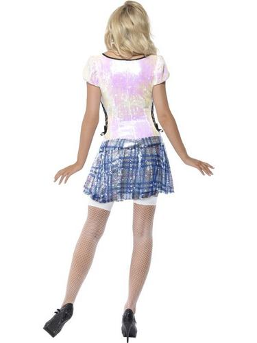 School Girl Bling Fancy Dress Costume Thumbnail 3