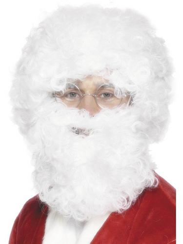 Santa Fancy Dress Wig and Beard Thumbnail 1