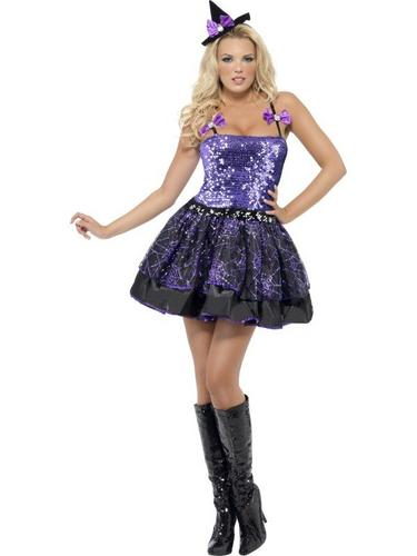 Witch Glimmer Fancy Dress Costume Thumbnail 2