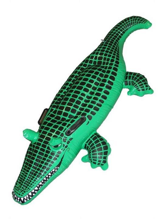 Inflatable Crocodile Thumbnail 1