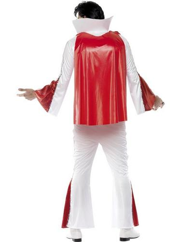 Elvis Fancy Dress Costume with Cape Thumbnail 2