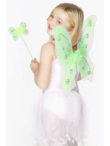 Butterfly Wings and Wand Green Thumbnail 1