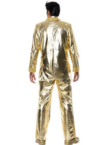 Elvis Gold Fancy Dress Costume Thumbnail 3