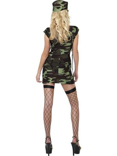 Combat Lady Fancy Dress Costume Thumbnail 3