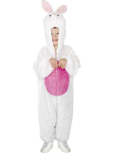 Kids Bunny Fancy Dress Costume Thumbnail 1