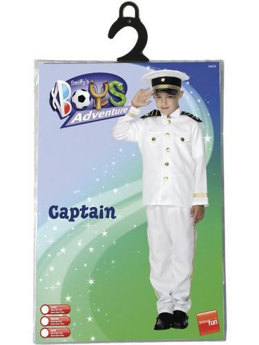 Boys Captains Fancy Dress Costume Thumbnail 2