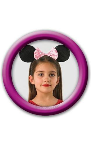 Minnie Mouse Pink Deluxe Ears Thumbnail 1