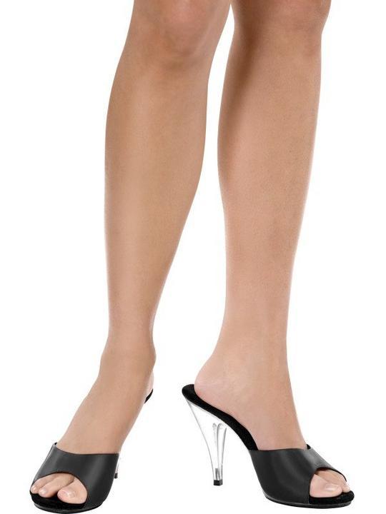 Black Boutique Slide Shoes Medium/Large Thumbnail 1