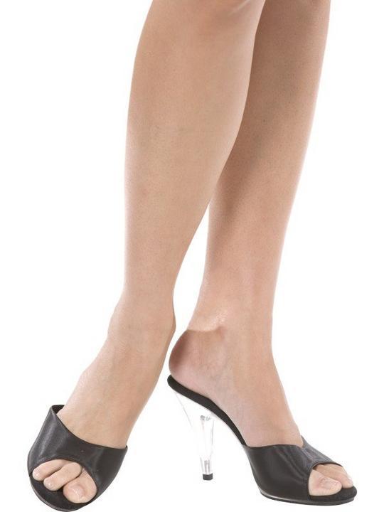 Black Boutique Slide Shoes Medium/Large Thumbnail 2