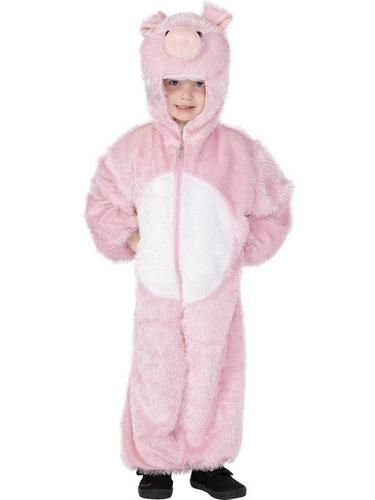 Pig Fancy Dress Costume Childs Thumbnail 1
