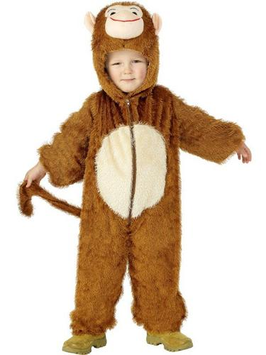 Monkey Fancy Dress Costume Child Thumbnail 1