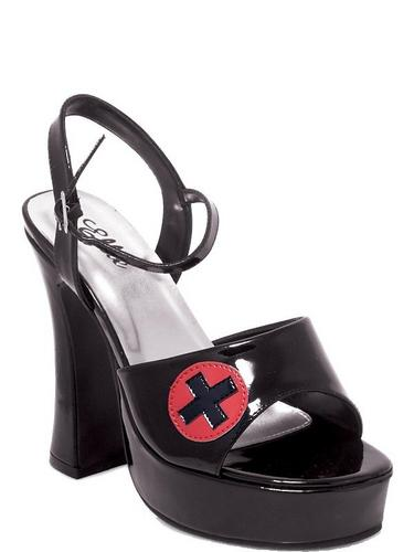 Nurse Shoes Black Thumbnail 1
