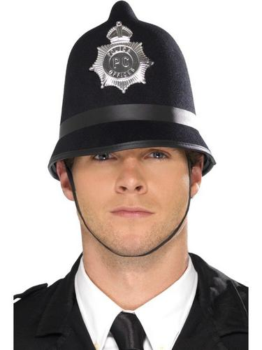 Felt Police Fancy Dress Hat Thumbnail 1