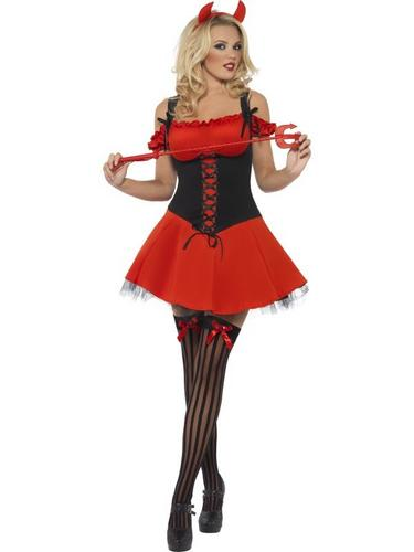 Wicked Devil Fancy Dress Costume Thumbnail 1