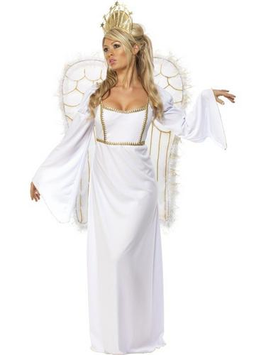 Ladies Angel Fancy Dress Costume Thumbnail 1