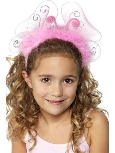 Girls Pink Flashing Headband Thumbnail 1