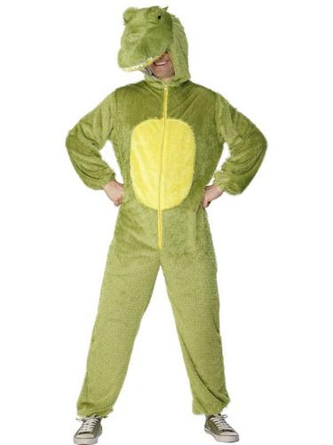 Crocodile Fancy Dress Costume Adult Thumbnail 2