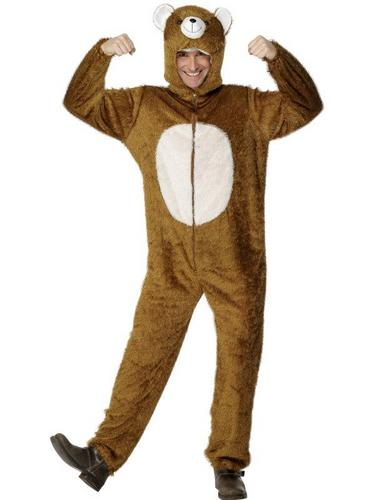 Bear Fancy Dress Costume Adult Thumbnail 1
