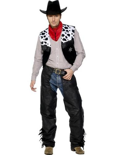 Cowboy Set Fancy Dress Costume Thumbnail 1