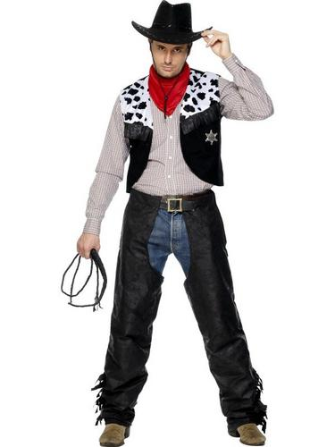 Cowboy Set Fancy Dress Costume Thumbnail 2