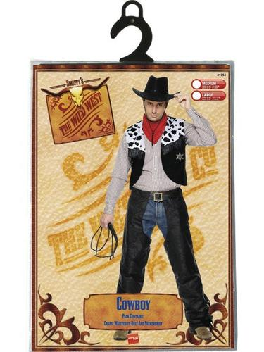 Cowboy Set Fancy Dress Costume Thumbnail 3
