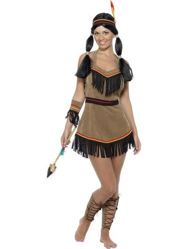 Indian Woman Fancy Dress Costume Thumbnail 1