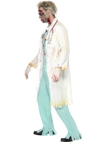 Zombie Doctor Fancy Dress Costume Thumbnail 3
