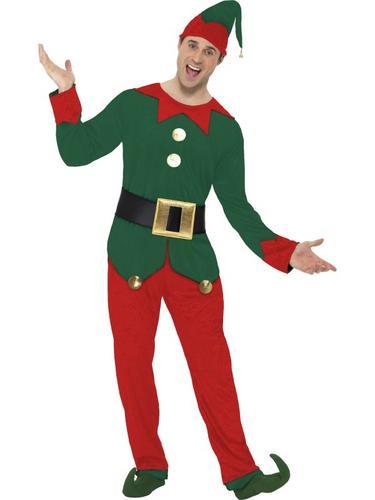 Elf Fancy Dress Costume Thumbnail 1