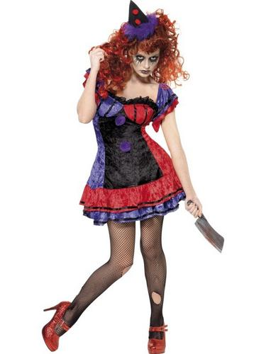 Bo Bo the Clown Fancy Dress Costume Thumbnail 1