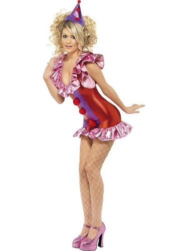 Playtime Clown Fancy Dress Costume Thumbnail 1