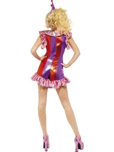 Playtime Clown Fancy Dress Costume Thumbnail 3