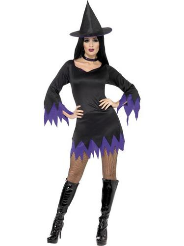 Witch Fancy Dress Costume Thumbnail 1