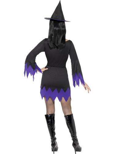 Witch Fancy Dress Costume Thumbnail 2