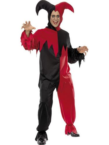 Dark Jester Fancy Dress Costume Thumbnail 2