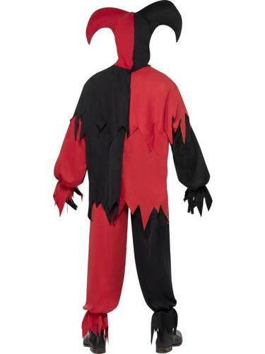 Dark Jester Fancy Dress Costume Thumbnail 3