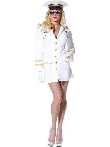 Top Gun Officer Fancy Dress Costume Thumbnail 2
