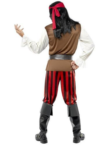 Pirate Ship Mate Fancy Dress Costume Thumbnail 2