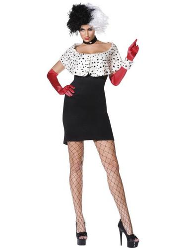 Evil Madam Fancy Dress Costume Thumbnail 1