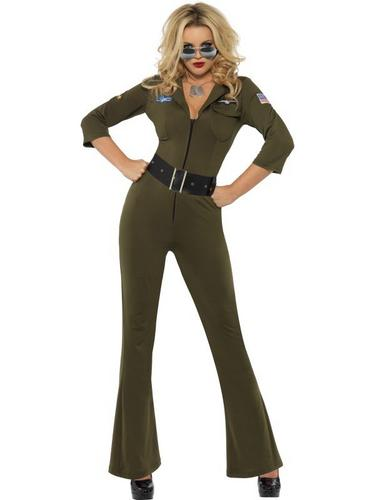 Top Gun Aviator Fancy Dress Costume Thumbnail 1