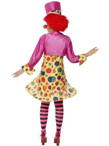 Clown Lady Fancy Dress Costume Thumbnail 2