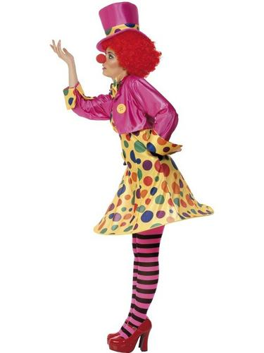 Clown Lady Fancy Dress Costume Thumbnail 3