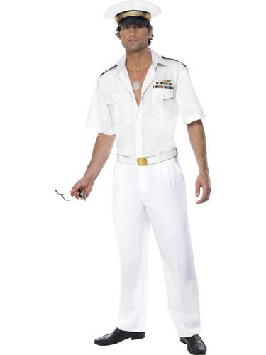 Top Gun Captain Fancy Dress Costume Thumbnail 1