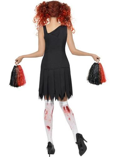 Horror Cheerleader Fancy Dress Costume Thumbnail 2