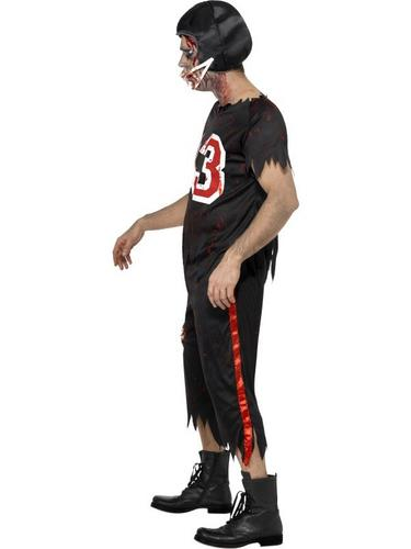 Zombie American Footballer Fancy Dress Costume Thumbnail 3