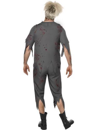 Zombie School Boy Fancy Dress Costume Thumbnail 2