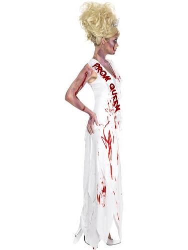 Zombie Prom Queen Fancy Dress Costume Thumbnail 3
