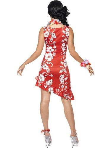 Hawaiian Beauty Fancy Dress Costume Thumbnail 2