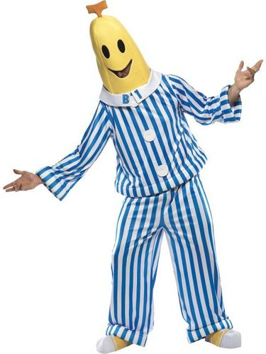 Bananas In Pajamas Fancy Dress Costume Thumbnail 2