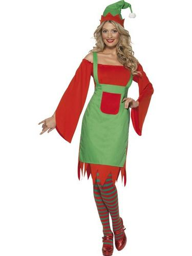 Cute Elf Fancy Dress Costume Thumbnail 1