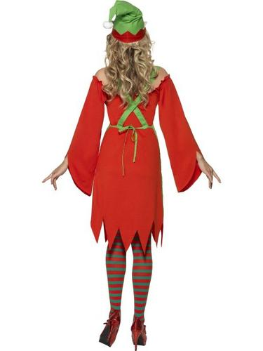 Cute Elf Fancy Dress Costume Thumbnail 2